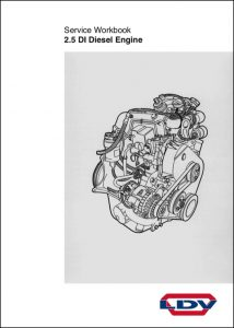 LDV 2.5 DI Diesel Engine Service Workbook