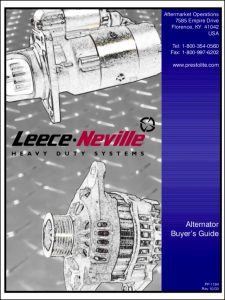 Leese Neville Alternator Buyers Guide
