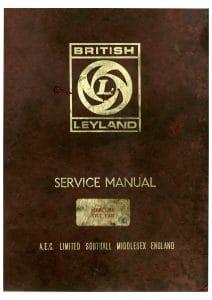 Leyland AEC A471 diesel engine Service manual