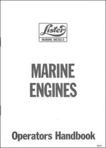 Lister Marine Engines Operators Handbook