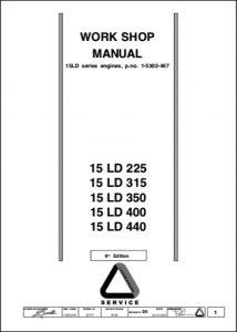 Lombardini 15 LD 225 Diesel Engine Workshop Manual