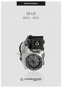 Lombardini 25 LD diesel engine Workshop Manual
