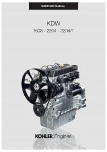 Lombardini KDW 1603 diesel engine Workshop Manual
