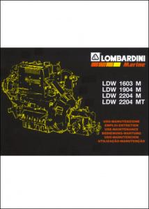 Lombardini-LDW-1603M-Maintenance
