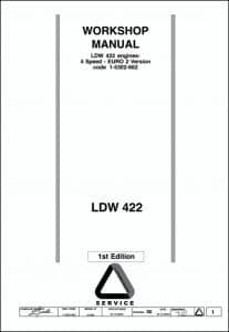 Lombardini LDW 422 diesel engine Workshop Manual