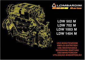 Lombardini LDW 502M Use-Maintenance Manual