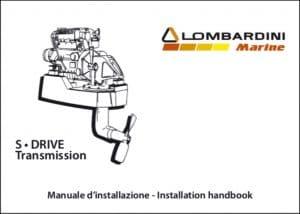 Lombardini S-drive saildrive Installation Handbook