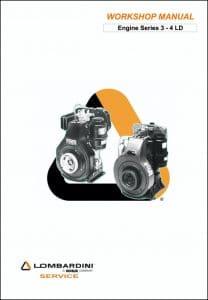 Lombardini diesel engine models Series 3 - 4 LD Workshop Manual