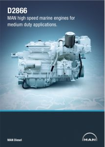 MAN D2866 marine diesel engine Technical Brochure