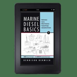 cover of Marine Diesel Basics 1 on Kindle mock-up