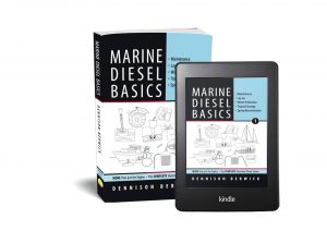 Marine Diesel Basics 1 3D cover book + iPad
