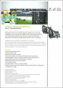 MWM Motores 10 diesel engine Series Brochure
