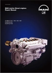 Man Diesel Engine Manual D2866LE