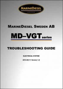 MarineDiesel MD-VGT Troubleshooting Guide