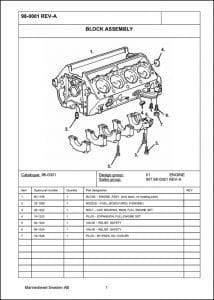 MarineDiesel Marine Diesel Engine Parts Manual