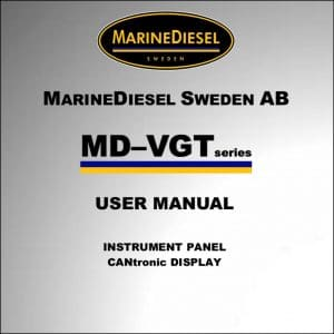 MarineDiesel VGT Instruments User Manual