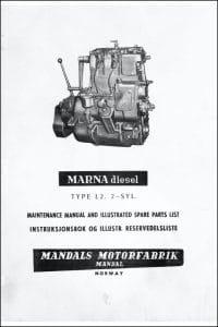 Marna L2 diesel engine Maintenance Manual part t1