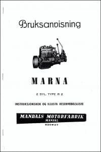 Bruksanvisning Marna R2 på norsk