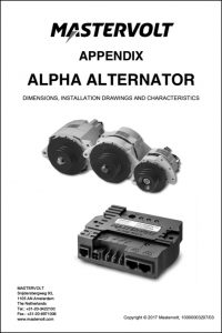 Mastervolt Alpha Alternators Appendix