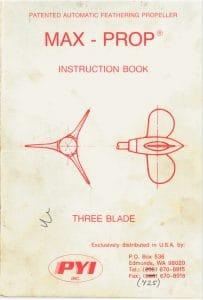 Max Prop Instruction Book