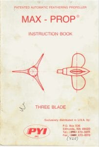 Max Prop Instruction Book