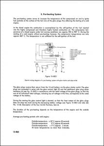 Mercedes Diesel Engine OM636 621 Preheating Guide