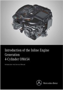 Mercedes OM654 diesel engine Introduction