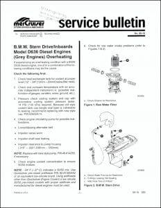 Mercruiser Bulletin 89-1 Overheating6