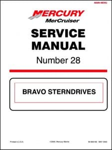 Mercury Bravo Sterndrives Service Manual