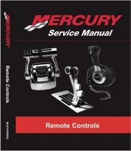 Mercury engine controls Service Manual