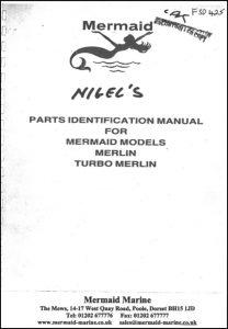 Mermaid Marine Merlin diesel engine Serial numbers from 8495 Parts Identification Manual