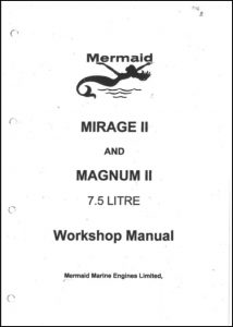 Mermaid Marine Mirage II, Magnum II diesel engines Workshop Manual