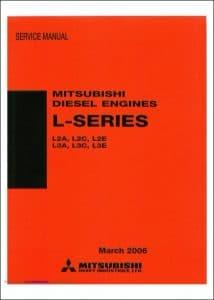 Mitsubishi L Series diesel engines Service Manual