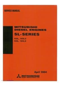 Mitsubishi S3L diesel engine Service Manual
