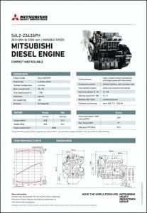 Mitsubishi S4L2-Z363SPH diesel engine Datasheet