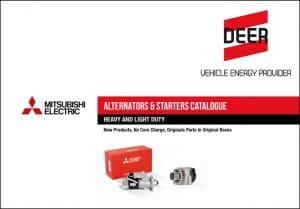 Mitsubishi Starters Alternators Catalog