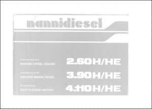 Nanni Diesel Engine 2.60 H/HE Operating Manual