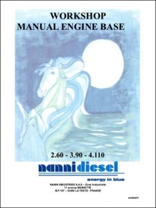 Nanni 2.60 marine diesel engine Workshop Manual