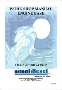 Nanni 3.100HE Marine Diesel Engine Workshop Manual