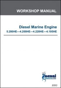 Nanni 5.280HE Marine Diesel Engine Workshop Manual