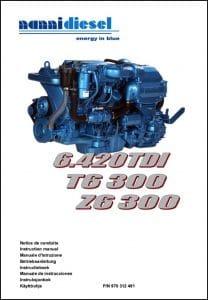 Nanni 6.420 TDI Marine Diesel Engine Instruction Manual