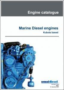 Nanni marine diesel Engines with Kubota base Catalogue