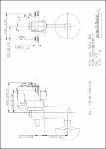 Nanni N2.10-110S diesel engine Drawing