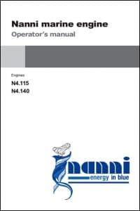 Nanni N4.115 Marine Diesel Engine Operator Manual