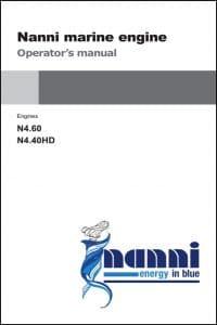 Nanni N4.60 Marine Diesel Engine Operator Manual