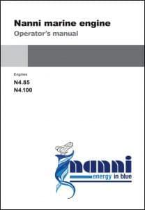 Nanni N4.85 Marine Diesel Engine Operator Manual