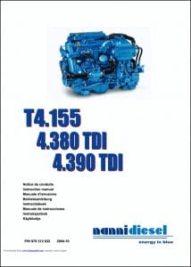Nanni T4.155 diesel engine Instruction Manual