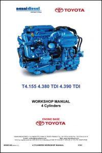 Nanni T4.155 marine diesel engine Workshop Manual