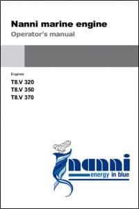 Nanni T8V Marine Diesel Engine Operator Manual