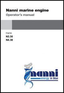 Nanni diesel engine manual N3.30